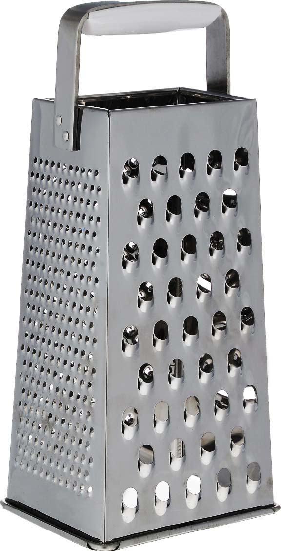 """Четырехгранная терка Leifheit """"Creative"""" выполнена из высококачественной нержавеющей  стали.  Сверху на терке находится ручка, изготовленная из пищевого пластика удобной формы.   Всего 4 вида лезвий: крупная терка, мелкая терка, шинковка и шредер.  Каждая хозяйка оценит все преимущества этой терки. Очень практичный и современный  дизайн делает изделие весьма простым в эксплуатации. Можно мыть в посудомоечной машине."""