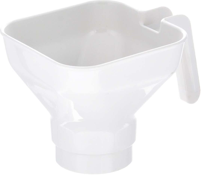 """Воронка для варенья Leifheit """"Creative"""" изготовлена из пищевого пластика. Она представляет собой обычную воронку с ручкой для более удобного использования. Единственное ее отличие состоит в диаметре самого отверстия. Подобное изделие предназначено для разлива варенья в банки и емкости с большим горлышком. Можно использовать для других пищевых продуктов. Подходит для мытья в посудомоечной машине."""