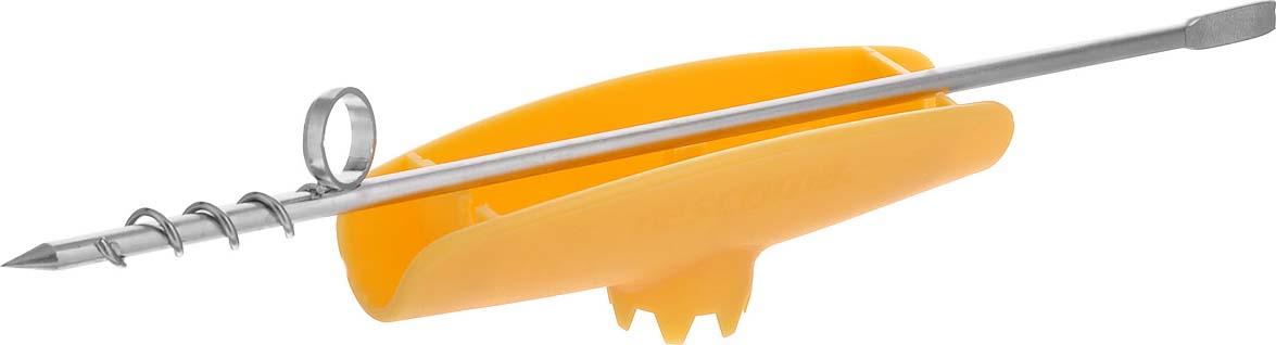 """Нож Tescoma """"Presto"""" поможет с легкостью вынуть сердцевину из картофеля. Ручка выполнена из прочного пластика, рабочая часть из высококачественной нержавеющей стали.Длина ножа: 21 см."""