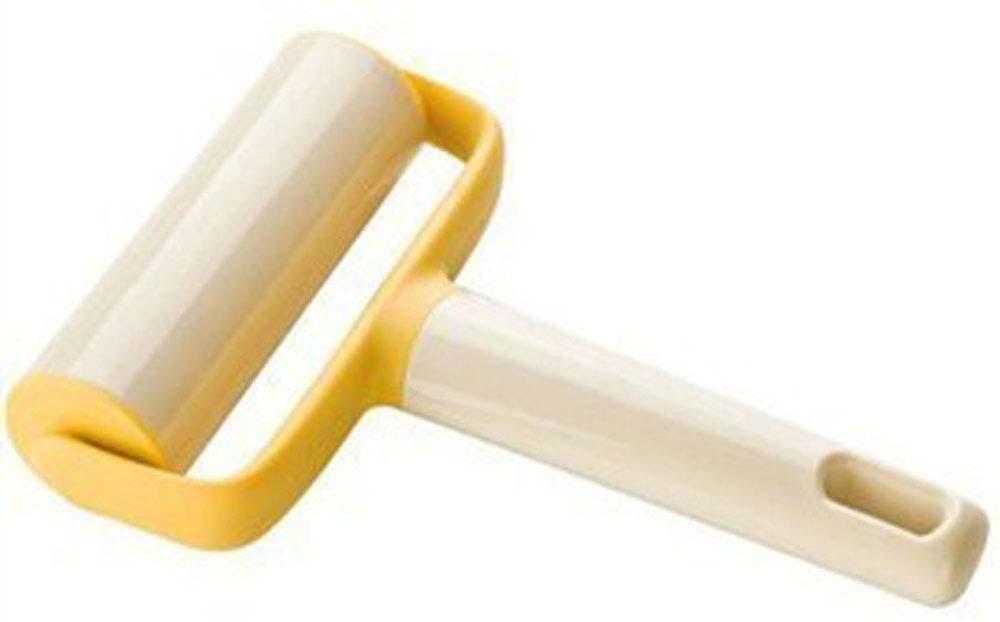 """Скалка для раскатывания теста Tescoma """"Delicia"""" выполнена из  пластика и оснащена удобной ручкой с отверстием для  подвешивания. С помощью такого ролика  можно раскатать тесто, не прилагая при этом больших усилий,  он также поможет разравнять края. Благодаря небольшим  размерам ролик можно использовать для раскатывания теста  прямо в форме или сковороде.  Такая скалка станет незаменимым аксессуаром на вашей кухне,  который по достоинству оценит каждая хозяйка.  Не рекомендуется мыть в посудомоечной машине."""