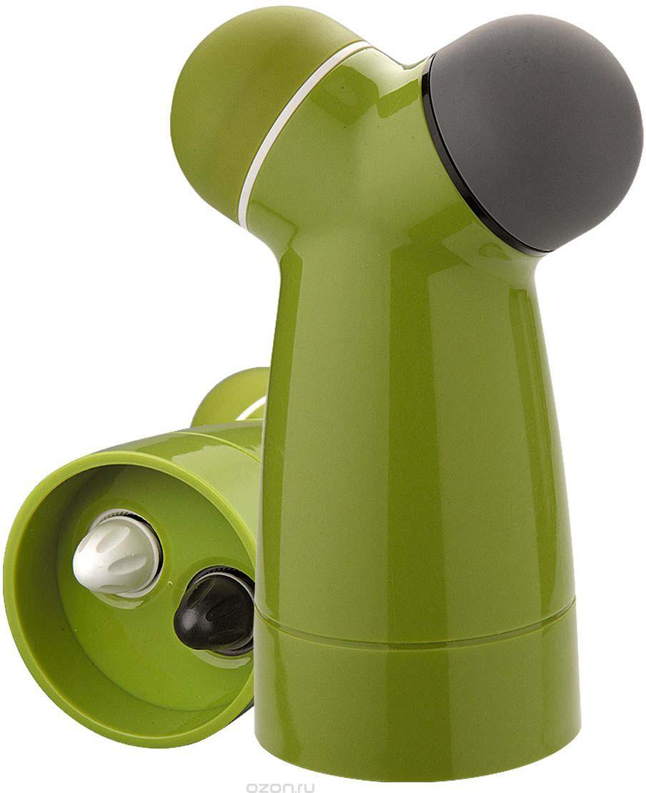 Прибор для измельчения специй Dekok, цвет: фисташковый, серый