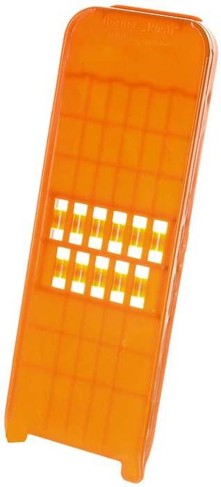 Овощерезка пицца-грейтер Borner Classic, цвет: оранжевый 114 gipfel овощерезка sana ручная многофункциональная с контейнером и сменными ножами 28х11х9см