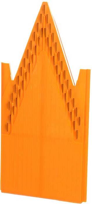 Дополнительная вставка для овощерезки выполнена в виде V-образной рамы с ножами 1,6 мм из пластика и металла. Вставка подходит для нарезки любых овощей и фруктов на тонкую длинную или короткую соломку, мелкие кубики.              Характеристики: Материал: пластик, металл. Цвет: оранжевый. Размер: 20 см х 9,7 см. Длина ножей: 0,9 см. Высота ножей: 1,6 мм - 4 мм. Размер упаковки: 26 см х 10 см х 2 см. Производитель: Германия. Артикул: 118.