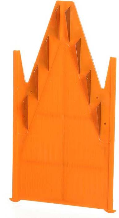 Дополнительная вставка для овощерезки выполнена в виде V-образной рамы с ножами 10 мм из пластика и металла. Вставка подходит для нарезки любых овощей и фруктов на длинные или короткие брусочки, крупные кубики.                       Характеристики: Материал: пластик, металл. Цвет: оранжевый. Размер: 18,5 см х 9,7 см. Длина ножей: 3 см. Высота ножей: 10 мм. Размер упаковки: 26 см х 10 см х 2 см. Производитель: Германия. Артикул: 119.