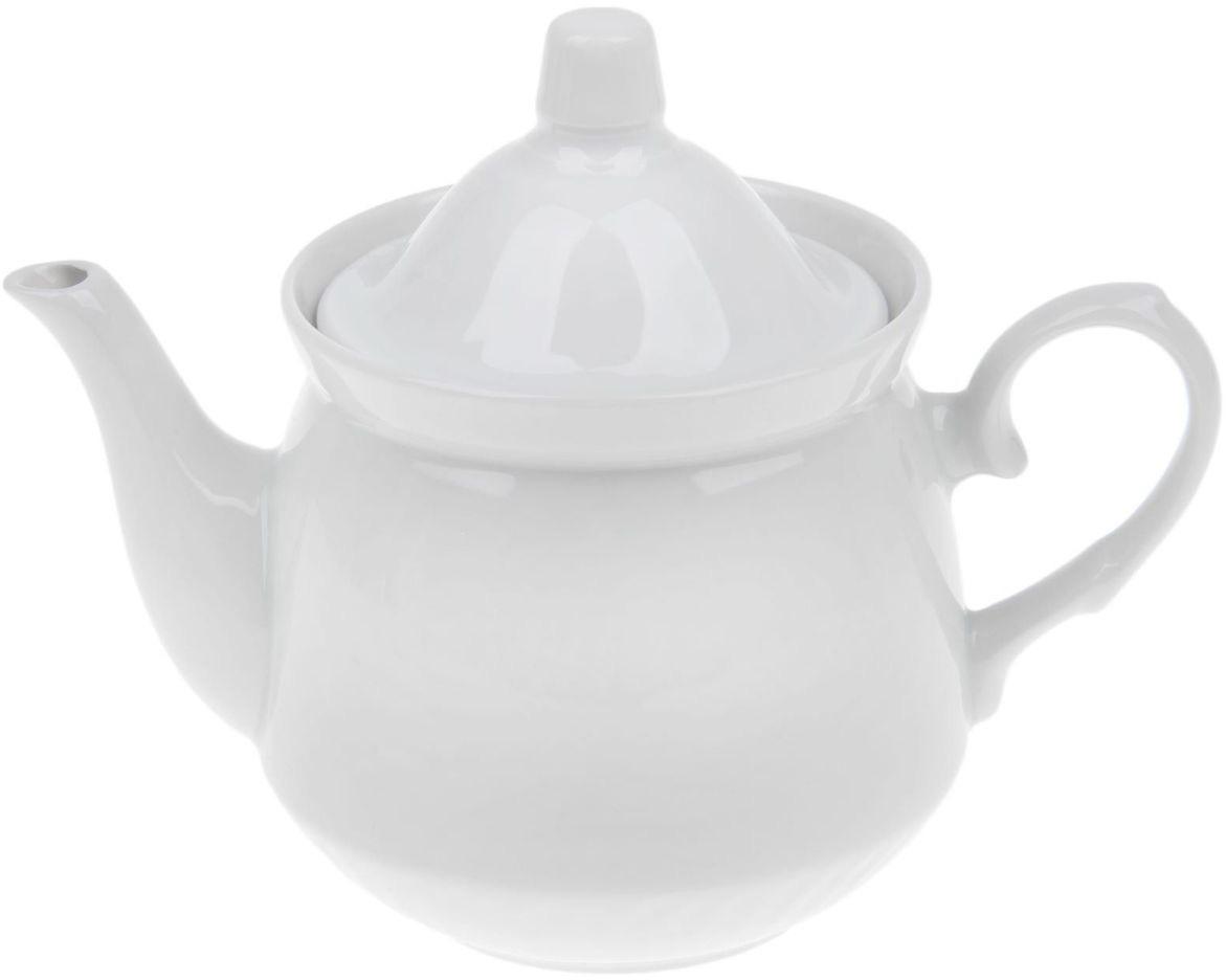 """Заварочный чайник """"Кирмаш. Белье"""" выполнен из высококачественного фарфора и покрыт сверкающей глазурью. Изделие оснащено крышкой.  Заварочный чайник """"Кирмаш. Белье"""" придется по вкусу и ценителям классики, и тем, кто предпочитает утонченность и  изысканность."""