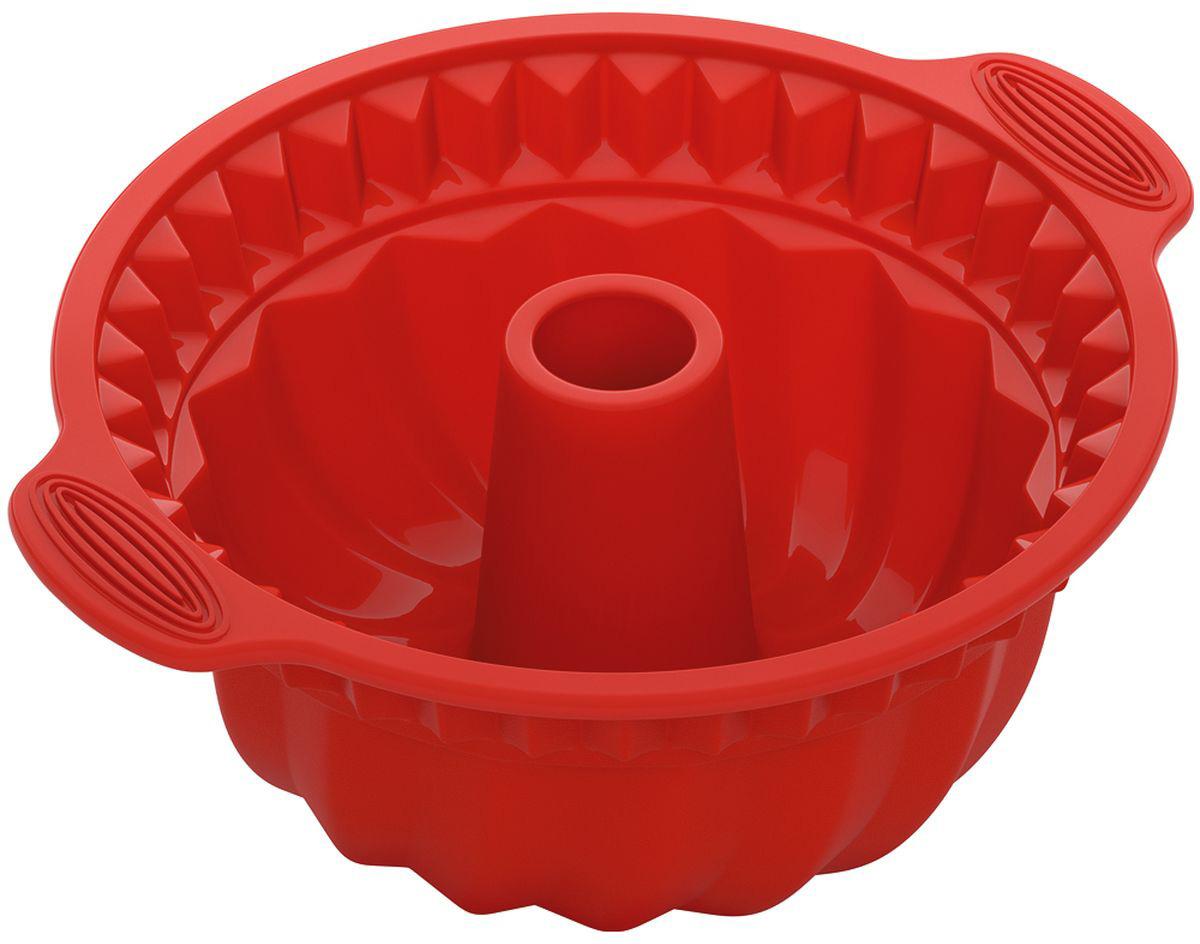 """Форма для выпечки Nadoba """"Mila"""" изготовлена из высококачественного жаропрочного силикона, отвечающего самому строгому европейскому стандарту качества. Изделие отличается стойкостью к высоким температурам, а также   обладает антипригарными свойствами, за счет чего выпечка легко вынимается и не пригорает. Форма не прихотлива, ее легко мыть и удобно хранить. Изделие идеально подходит для выпекания кекса.  Форма обладает широким диапазоном рабочих температур от -40°С до +230°С, поэтому пригодна для любых типов духовок, микроволновой печи и морозильной камеры. Можно мыть в посудомоечной машине.   Размер формы: 28 х 24 х 10 см.     Как выбрать форму для выпечки – статья на OZON Гид."""