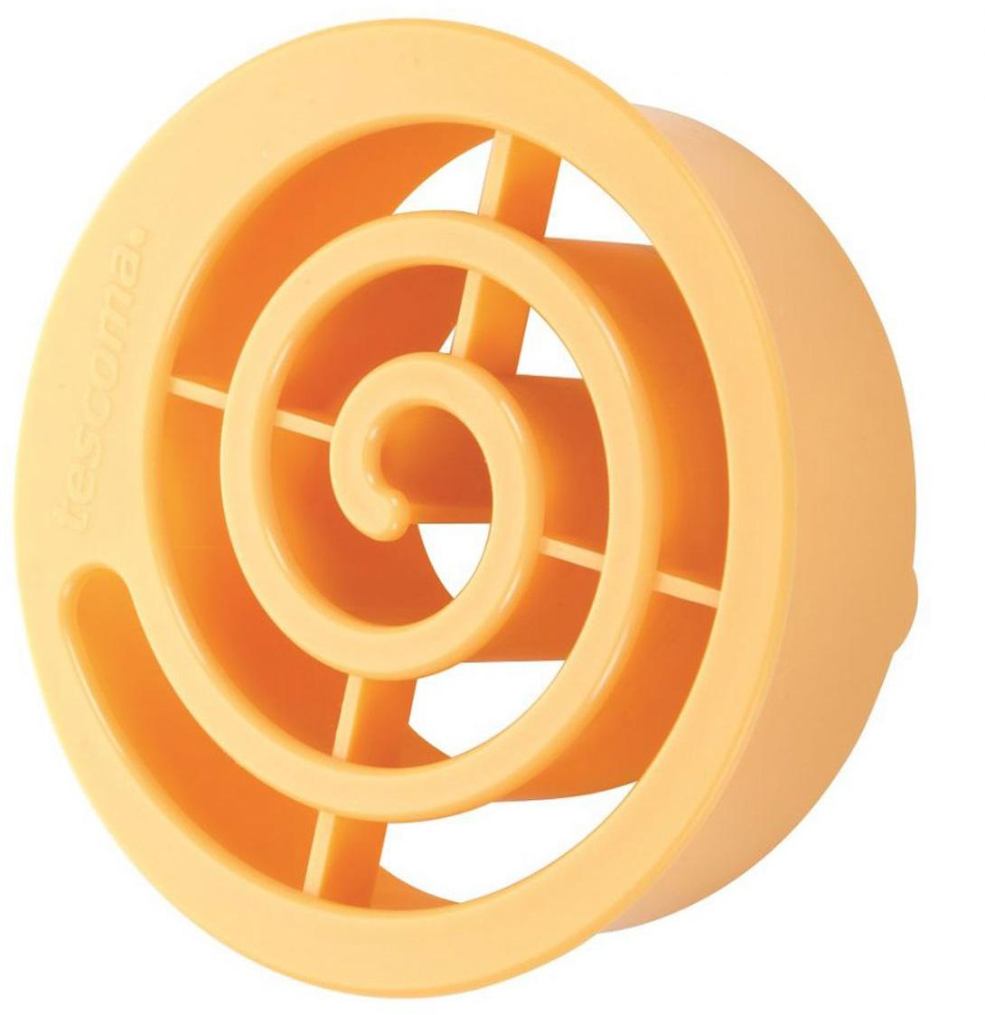Форма для выпечки булочек Tescoma Улитка, 9 х 9 х 3 см стакан для ванной umbra droplet цвет дымчатый 9 3 х 9 6 х 9 6 см