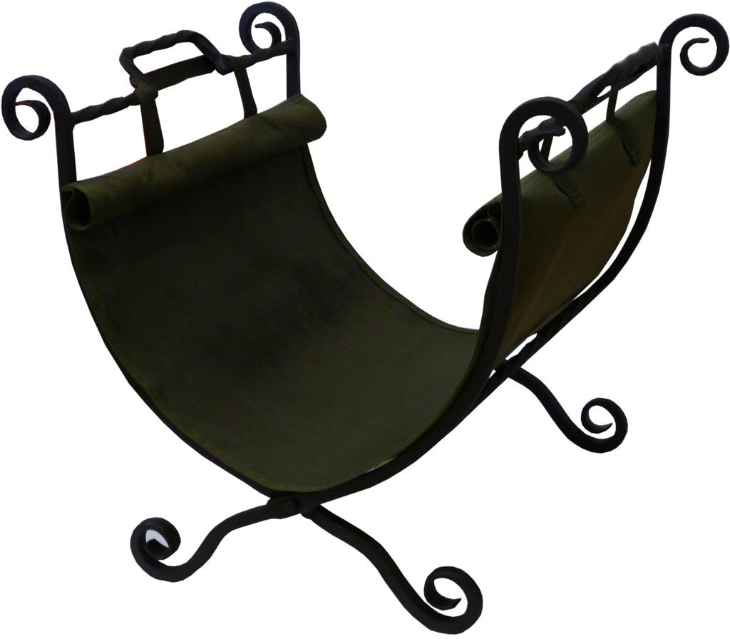 """Данная дровница имеет привычную форму, кроме того она удобно складывается и имеет прочную сумку-переноску для дров.Дровница """"Классика"""" не только украсит интерьер вашего дома, но и станет отличным подарком соседям или друзьям.Выполнена методом ковки из квадратного прута толщиной 12 мм и покрыта высокотемпературной краской церта."""
