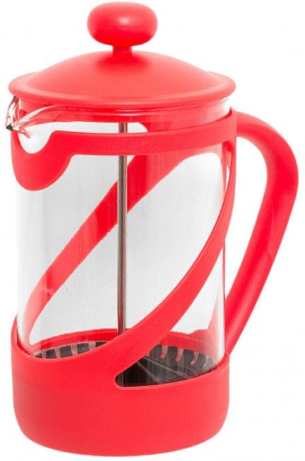 """Френч-пресс Attribute """"Basic Color"""" позволит быстро и просто приготовить свежий и ароматный кофе иличай. Цветовая гамма подойдет даже для самого яркого интерьера. Френч-пресс изготовлен извысокотехнологичных материалов на современном оборудовании:- корпус изготовлен из высококачественного жаропрочного стекла, устойчивого к окрашиванию ицарапинам;- фильтр-поршень из нержавеющей стали выполнен по технологии """"press-up"""" для обеспеченияравномерной циркуляции воды;- яркая подставка из пластика препятствует скольжению френч-пресса.Практичный и стильный дизайн френч-пресса Attribute """"Basic Color"""" полностью соответствуетпоследним модным тенденциям в создании предметов бытового назначения."""