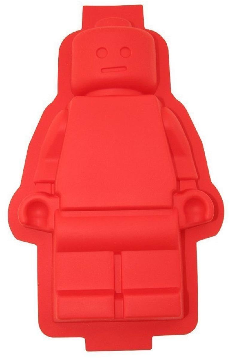 """Форма для кекса Fidget Go """"Lego"""" выполнена из силикона. Эта силиконовая форма   спроектирована и изготовлена с учетом горячих и холодных обработок, она может   хорошо противостоять низкой и высокой температуре от -40°С до +230°С.   Независимо от того, какие способы приготовления вы используете для него,   силикон не проявит ни малейшего признака износа.  Она безопасна для   морозильной камеры, духовки, микроволновой печи и посудомоечной машины.    Не требуется масло для предотвращения прилипания.       Как выбрать форму для выпечки – статья на OZON Гид."""