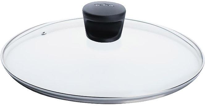 """Крышка """"Tefal"""" изготовлена из термостойкого стекла. Обод, выполненный из высококачественной нержавеющей стали, защищает крышку от  повреждений, а ручка, выполненная из термостойкого пластика, защищает ваши руки от высоких температур. Крышка удобна в использовании,  позволяет контролировать процесс приготовления пищи. Имеется отверстие для выпуска пара. Характеристики: Материал: стекло, нержавеющая сталь, пластик. Диаметр: 18 см. Производитель: Франция. Изготовитель: Россия. Артикул:  040 90 118.   Дизайнер, производитель, пионер в области новейших технологий уже 50 лет, """"Tefal"""" представляет практичную и надежную кухонную посуду,  которая отвечает современным требованиям. Создавая новое, """"Tefal"""" всегда стремится улучшить результаты приготовления пищи. Новинки  намного упрощают цикл приготовления: ингредиенты не подгорают и сохраняют свой первозданный вкус,  посуда отличается легкостью очистки.  Индикатор нагрева для совершенства рецептов, возможность выбора посуды для индукционных плит, инновационное решение проблемы хранения  посуды и, как следствие, безупречное приготовление пищи!"""