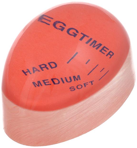 """Специальный таймер для варки Bradex """"Подсказка"""", выполненный из пластика, поможет сварить яйцо до нужной кондиции. Индикатор очень прост в использовании: необходимо поместить таймер в кастрюлю вместе с обычными яйцами и подождать некоторое время. После закипания воды по периметру прибора появится светло-желтый ободок, толщина которого покажет степень готовности яйца - """"всмятку"""", """"в мешочек"""", """"вкрутую"""". Индикатор Bradex """"Подсказка"""" станет отличным кухонным приспособлением, облегчающим контроль над приготовлением различных блюд.   Характеристики: Материал: пластик. Размер индикатора: 5,7 см х 4 см х 3 см."""