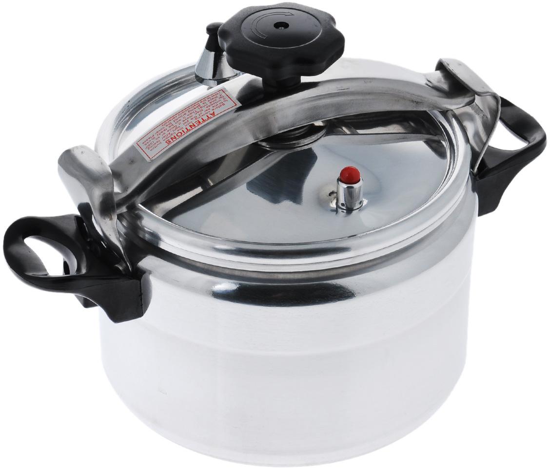 """Скороварка """"Mayer & Boch"""" изготовлена из высококачественного алюминия с зеркальной полировкой. Материал изделия безопасен для здоровья, гигиеничен, хорошо проводит тепло и легко чистится. Изделие устойчиво к механическим повреждениям, равномерно распределяет тепло и экономит энергию.  Скороварка готовит при высоких температурах. Плотно прилегающая крышка из нержавеющей стали, и дополнительное уплотнительное кольцо предотвращают выход пара. Горячий пар распределяется по всей внутренней поверхности изделия, что позволяет готовить здоровую и вкусную пищу намного быстрее. Основное преимущество скороварок в том, что при готовке все питательные вещества и микроэлементы сохраняются. Эргономичные бакелитовые ручки обеспечивают удобный захват. Скороварка """"Mayer & Boch"""" послужит прекрасным помощником для вас и членов вашей семьи.   Подходит для использования на всех типах плит, кроме индукционных. Можно мыть в посудомоечной машине.    Высота стенки: 16,5 см.  Диаметр по верхнему краю: 24 см.  Толщина дна: 2 см.  Толщина стенки: 2 мм.  Диаметр дна: 20 см."""