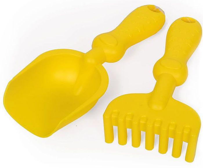 ЯиГрушка Набор игрушек для песочницы цвет желтый 59427
