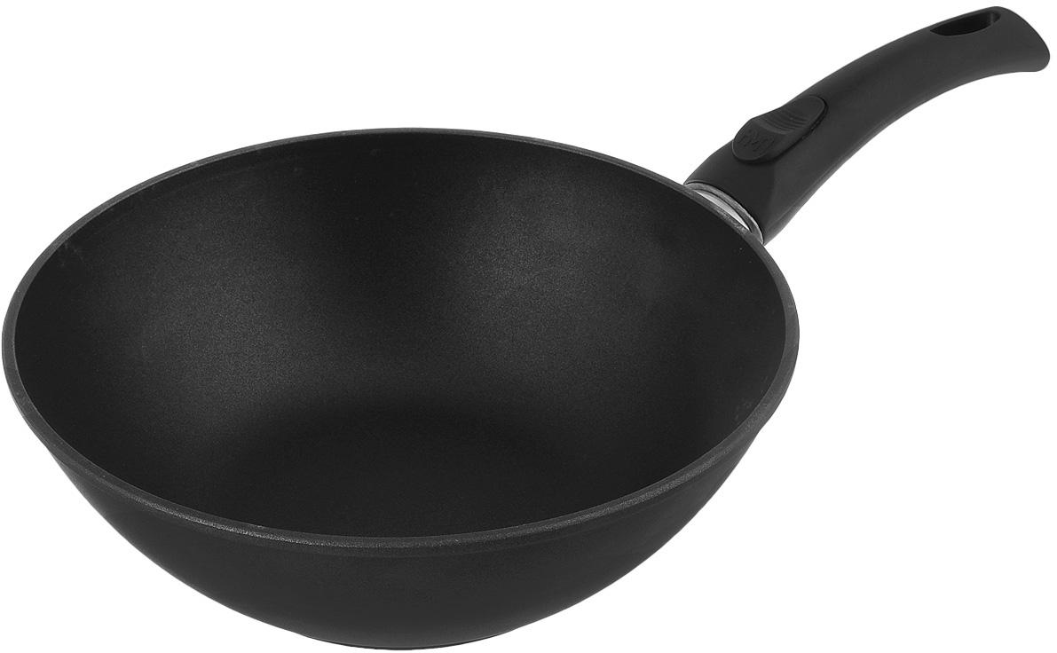 Сковорода-вок литая Нева Металл Посуда