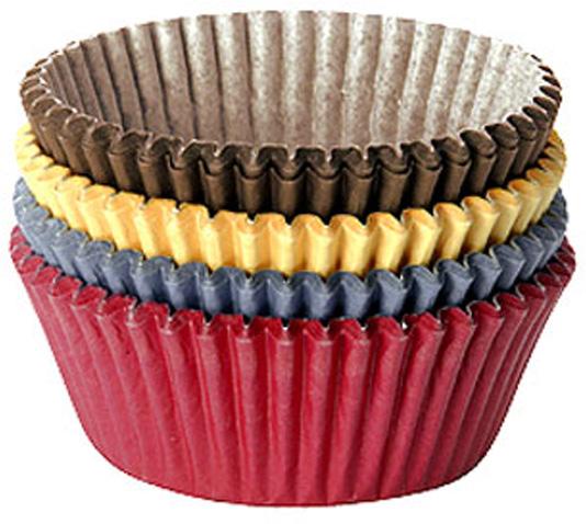 """Кондитерские корзинки """"Tescoma"""" предназначены для выпечки и сервировки печенья. Корзинки выполнены из качественной бумаги.  Характеристики: Материал: бумага. Диаметр формы: 7 см. Высота формы: 4 см. Комплектация: 100 шт. Производитель: Чехия. Артикул: 630636."""