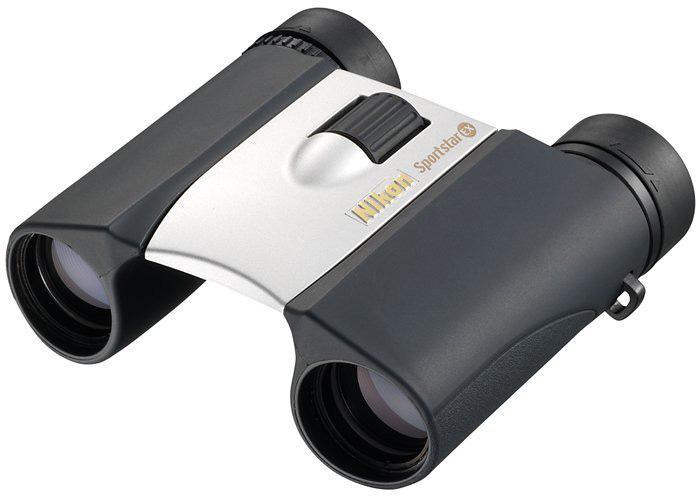 Бинокль Nikon Sportstar EX 8x25, цвет: серебристый