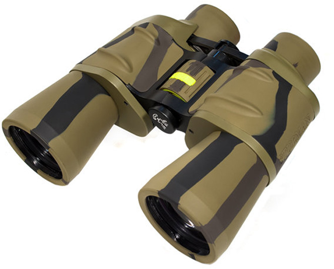 Бинокль Sturman 12х50, цвет: камуфляж бинокль sturman 12–36х70