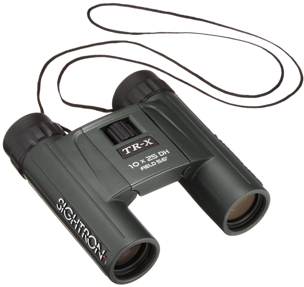 Бинокль Kenko Sightron TR-X 10x25, цвет: черный бинокль sturman 10x25 с термометром