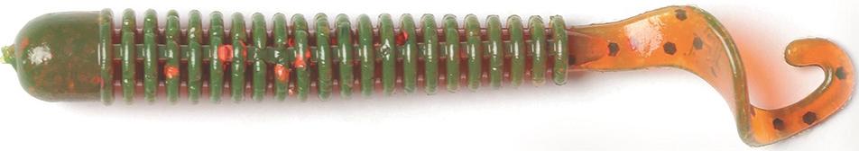 Твистер LJ Pro Series Ballist 2.5in, длина 63 мм, 10 шт. 140101-PA16