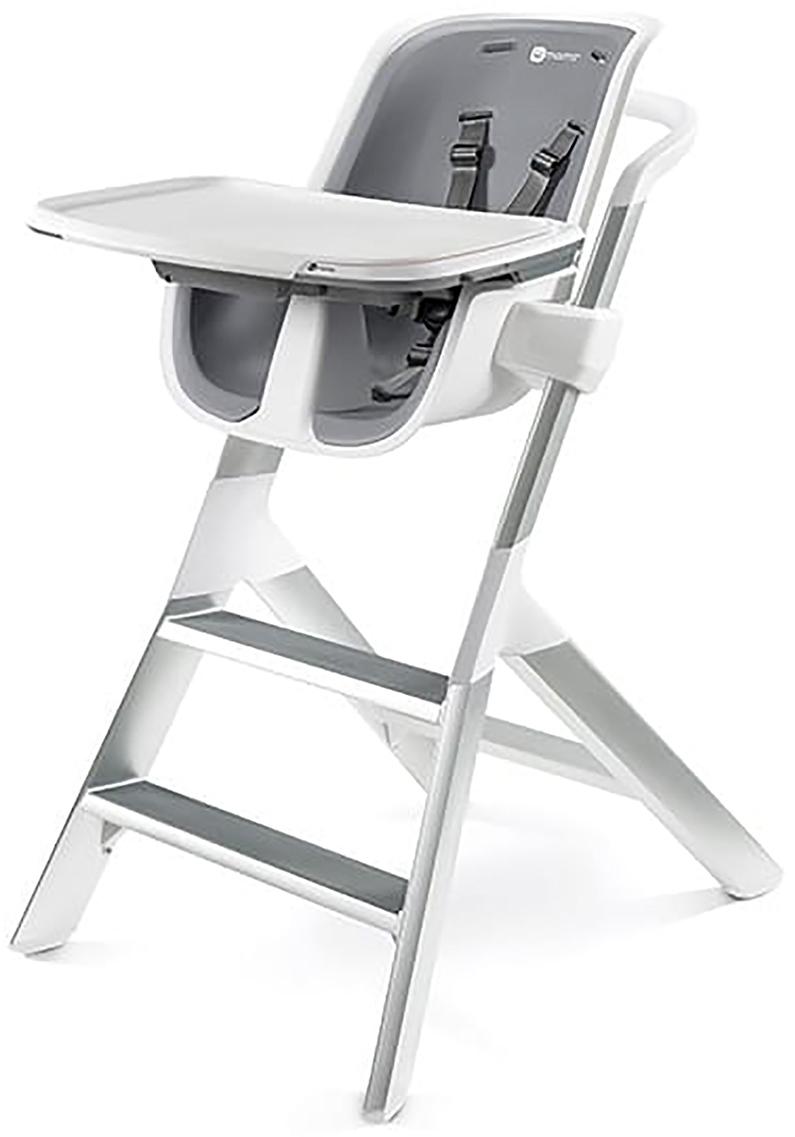 4moms Стульчик для кормления High chair 2.1 цвет белый серый