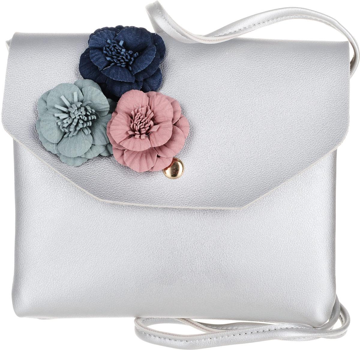 Сумка для девочки Vitacci, цвет: серый. BD0390D сумка для девочки vitacci цвет черный 1000000704