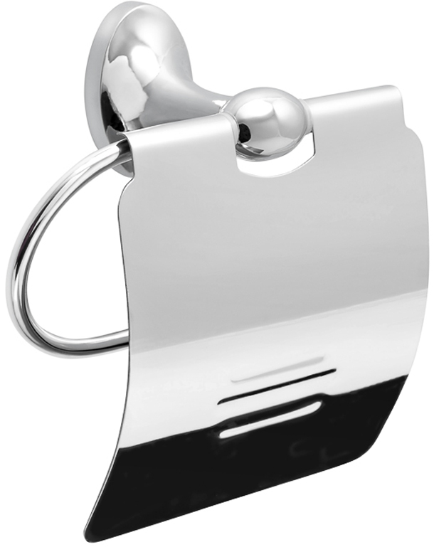 Держатель для туалетной бумаги Verran Olive, закрытый, цвет: серебристый verran держатель для полотенца 60 см verran orlando