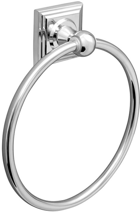 Держатель для полотенец Verran Pillar, кольцо, цвет: серебристый verran держатель для полотенца 60 см verran orlando