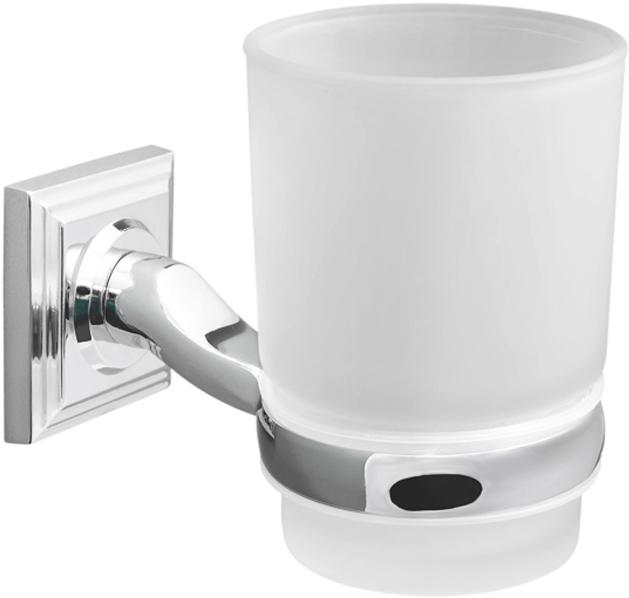 Стакан для зубных щеток из коллекции Pillar крепится к стене при помощи металлического держателя на шурупы. Розетка держателя имеет квадратную форму и лаконичный дизайн. Предметы серии Pillar лучше всего сочетаются с хромированной сантехникой и являются универсальными по стилю.ДеталиМатовая поверхность стаканаМногослойное покрытие металла гальваникой для защиты от коррозииКрепления в комплектеУплотнительное кольцо из пластика между держателем и стаканомСкрытое креплениеДержатель из металла Чистить мягкой салфеткой, щадящим моющим средством, не использовать абразивные вещества.
