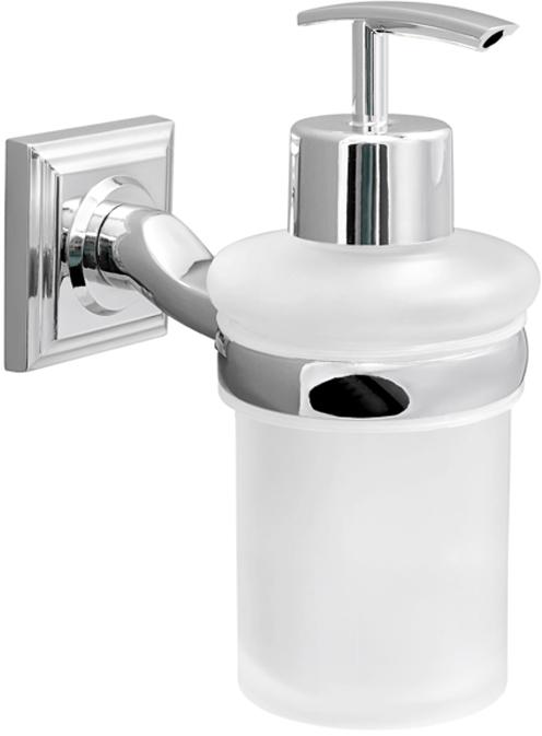 Диспенсер для жидкого мыла Verran сделан из стекла и высококачественного сплава металлов. Чистить мягкой салфеткой, щадящим моющим средством, не использовать абразивные вещества.