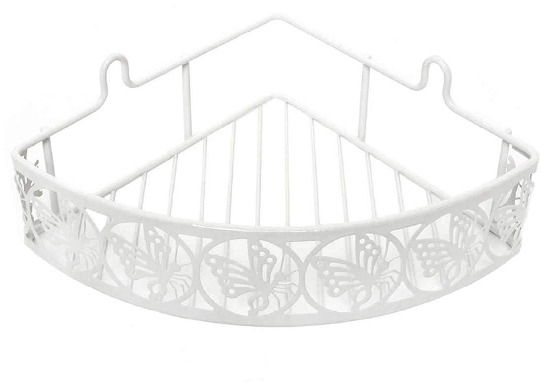 """Угловая полка """"Verran"""" изготовлена извысококачественного металла. Полка отлично подойдет для хранения различных ванныхпринадлежностей. Она впишется практически в любой интерьер ипоможет эффективно организовать пространство."""