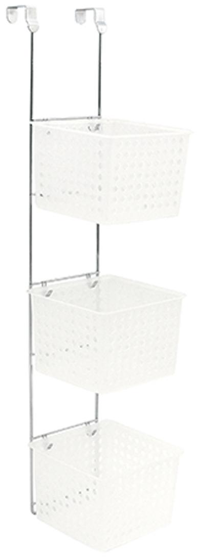 """Вместительная 3-ярусная полка """"Verran"""" на стенку душевой кабины изготовлена извысококачественного металла и пластика. Полка отлично подойдет для хранения различных ванныхпринадлежностей. Она впишется практически в любой интерьер ипоможет эффективно организовать пространство."""