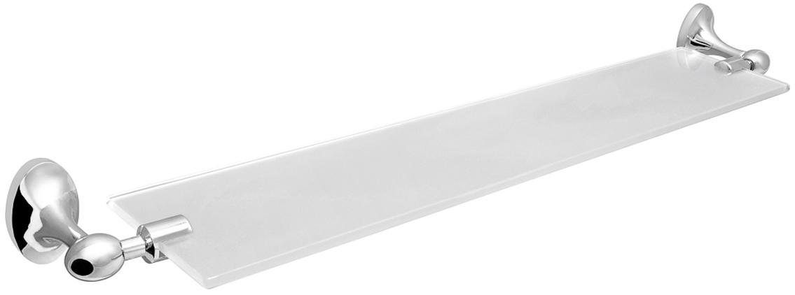 """Настенная прямоугольная полка """"olive"""" изготовлена извысококачественного металлического сплава и прочного стекла. Полка отлично подойдет для хранения различных ванныхпринадлежностей. Она впишется практически в любой интерьер ипоможет эффективно организовать пространство."""