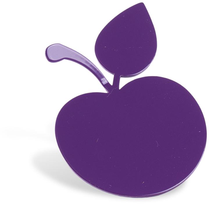 Крючок для ванной Moroshka Fairytale. Apple, цвет: фиолетовый корзина для белья moroshka цвет фиолетовый белый