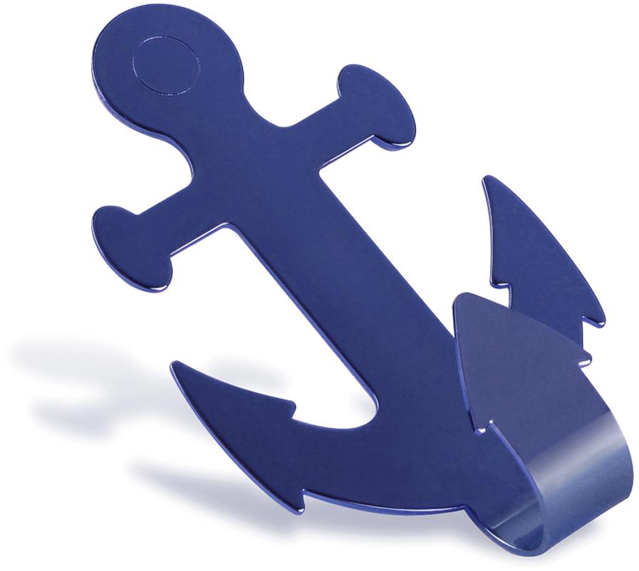 Крючок для ванной Moroshka Maritime, цвет: синий кольца для занавесок maritime moroshka кольца для занавесок maritime