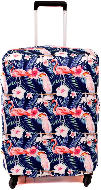 Чехол для чемодана Fancy Armor Travel Suit Eco. Танго, размер M/L (60-70 см) plus size polka dot pussy bow shirt dress
