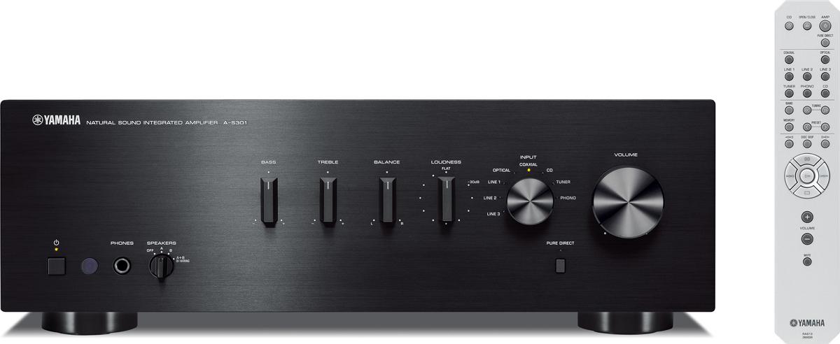 все цены на Yamaha A-S301, Black интегральный усилитель онлайн