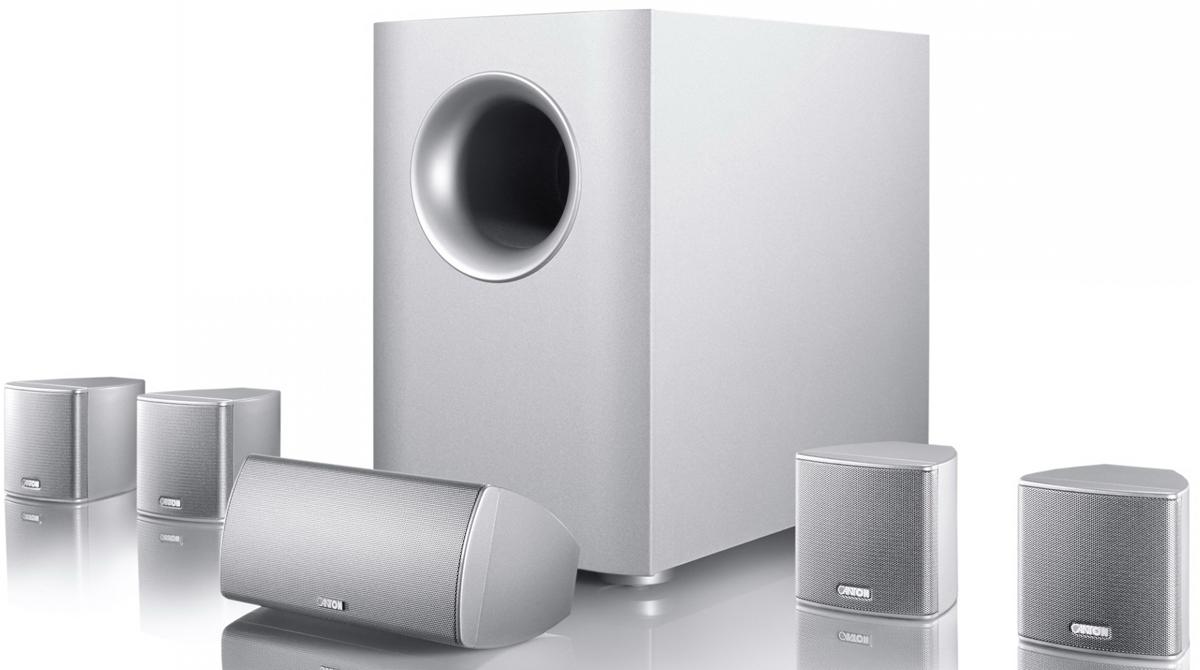 Canton 5.1 Movie 75, Silver акустическая система