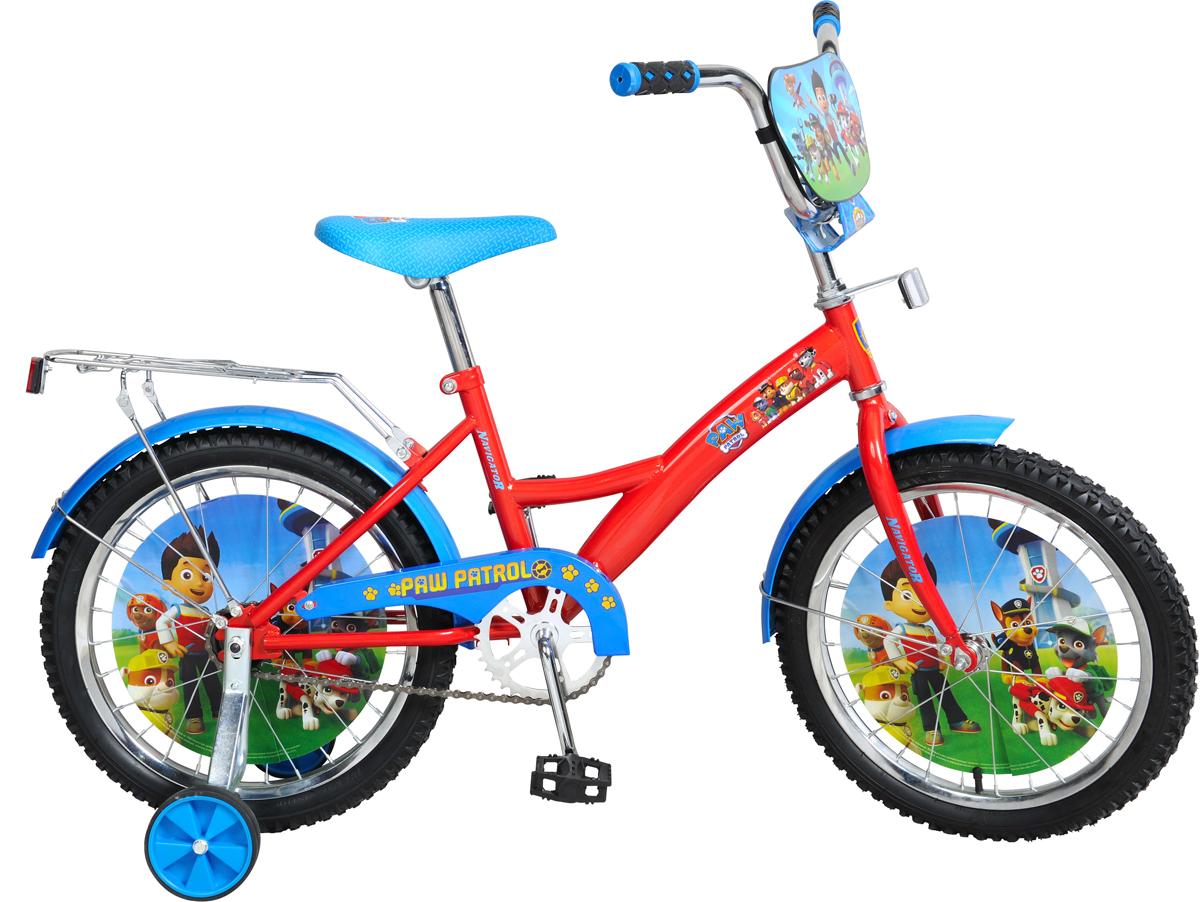 Велосипед детский NavigatorЩенячий патруль, цвет: красный, колесо, 18