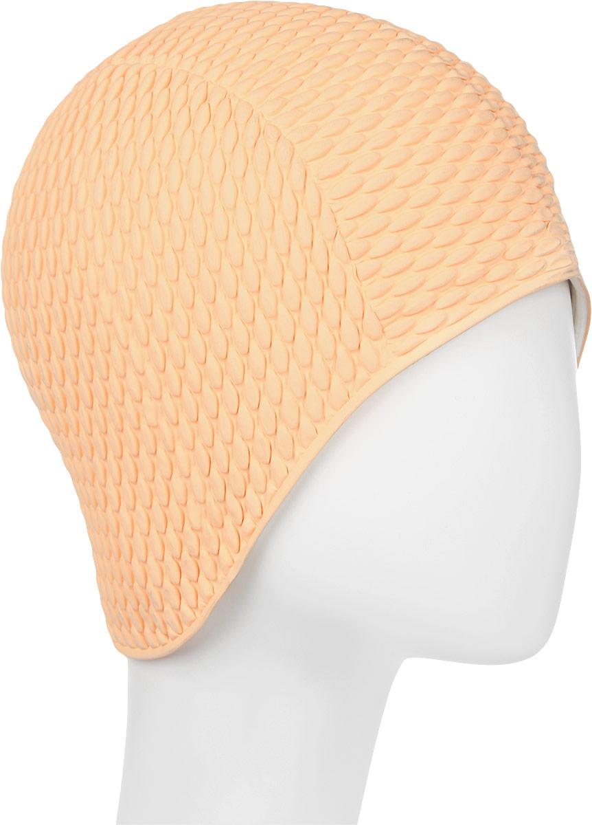 Шапочка для плавания Fashy Babble Cap, цвет: персиковый