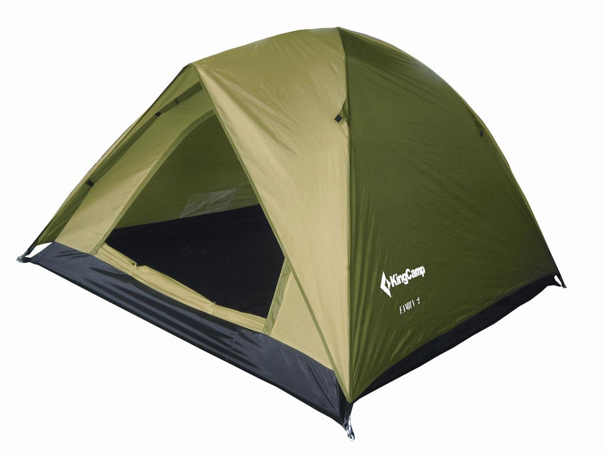 Палатка туристическая King Camp 3073 Family, цвет: синий