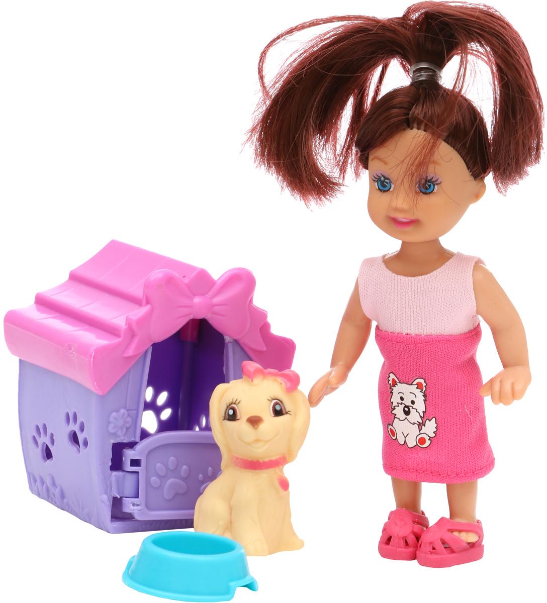 Tongde Кукла с собачкой в будке кукла tongde td t67 d1092