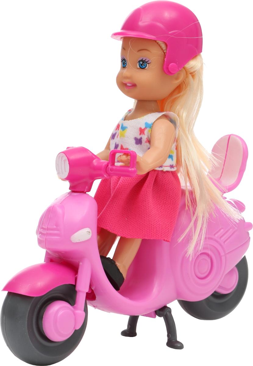 Tongde Кукла с мото и аксессуарами 16 х 16 х 6 см K080189 кукла tongde td t67 d1092