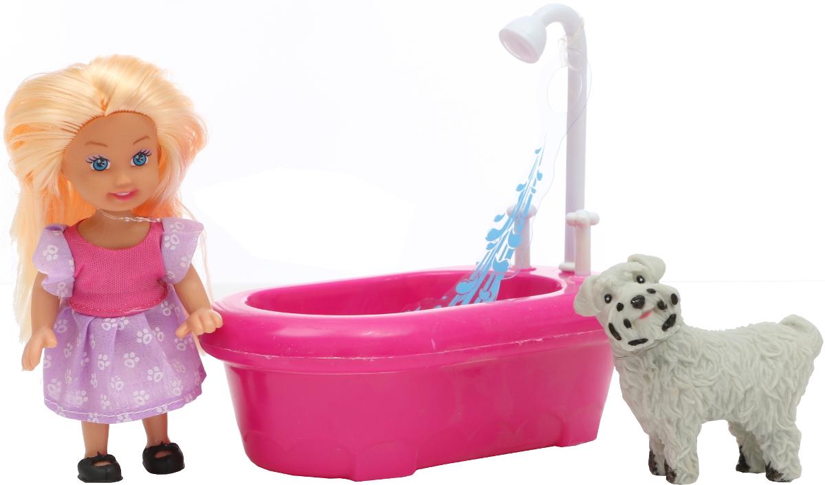 Tongde Кукла с собачкой в ванне кукла tongde td t67 d1092