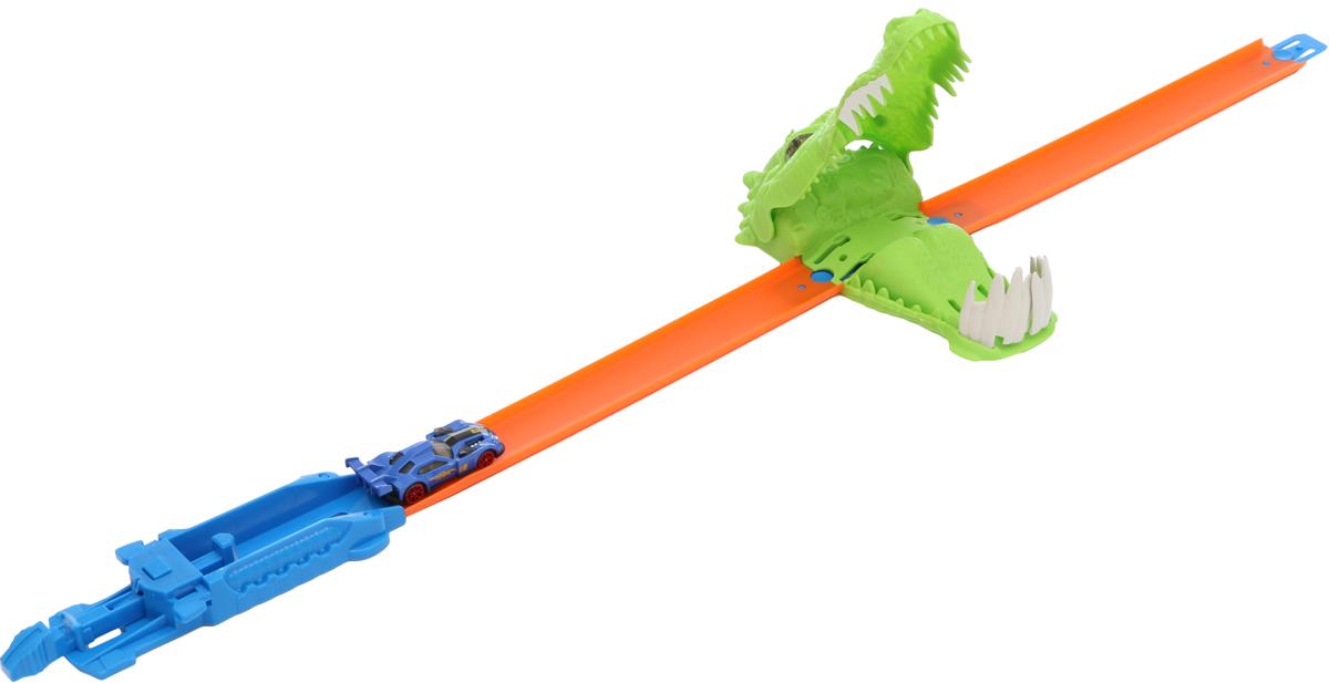 Tongde Игрушечный трек Аллигатор с 2 машинками tonka игрушечный трек trash treader