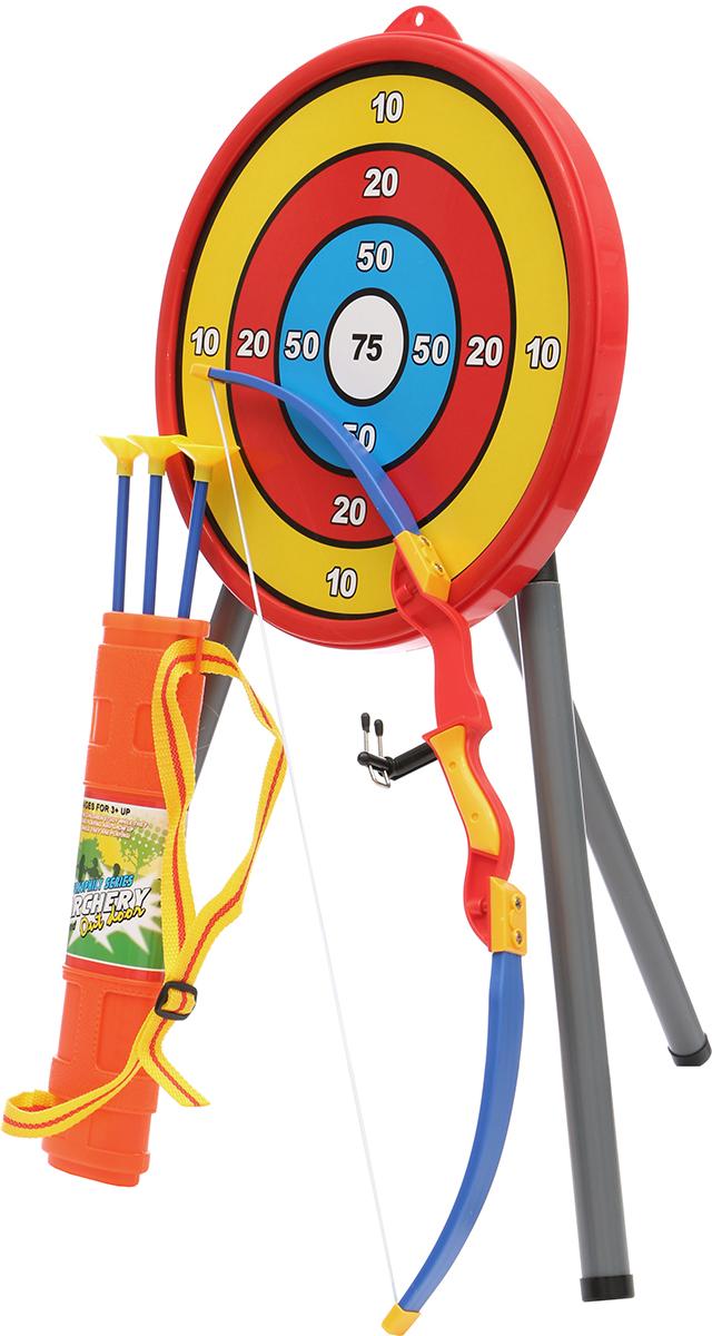 Tongde Игрушечное оружие Лук со стрелами с мишенью 950F игрушечное оружие gonher игрушечное оружие ковбойский игровой набор с винтовкой на 8 пистонов