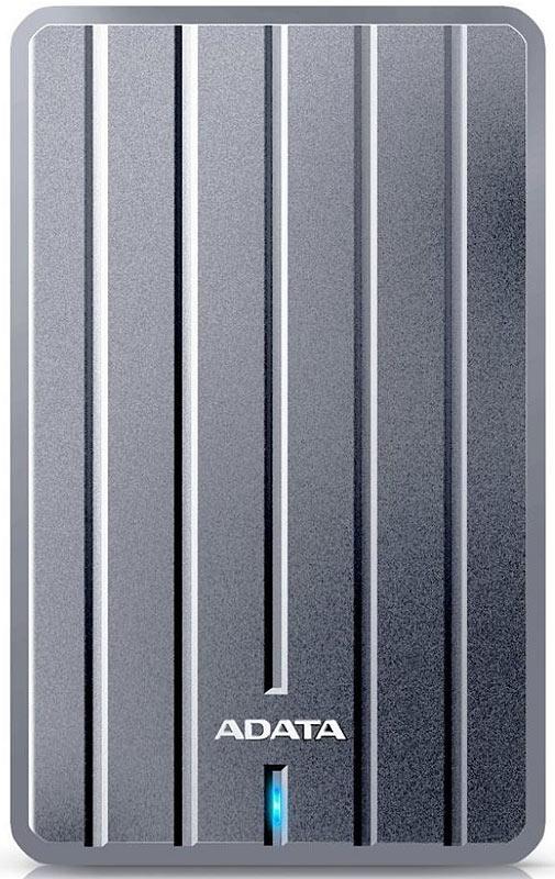 ADATA HC660 1TB, Gray внешний жесткий диск (AHC660-1TU3-CGY)