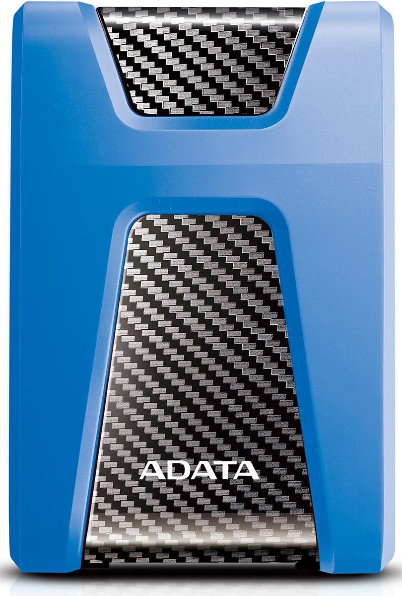 Zakazat.ru ADATA HD650 1TB, Blue внешний жесткий диск (AHD650-1TU31-CBL)