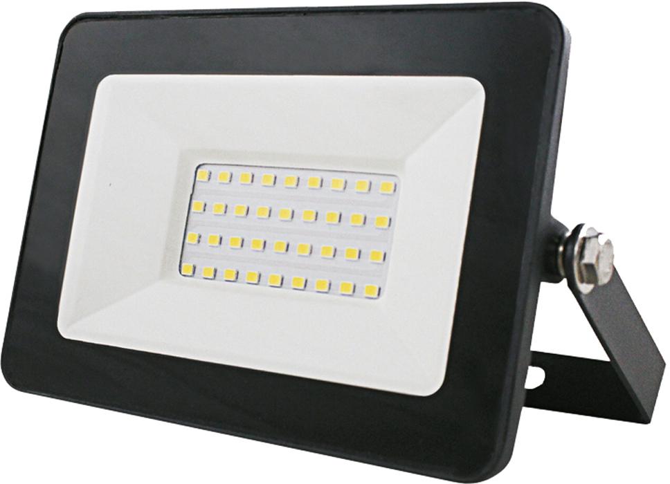 Прожектор светодиодный энергосберегающий Союз Dob, плоский, SFLSLED-DOB-30-865-BL-IP65
