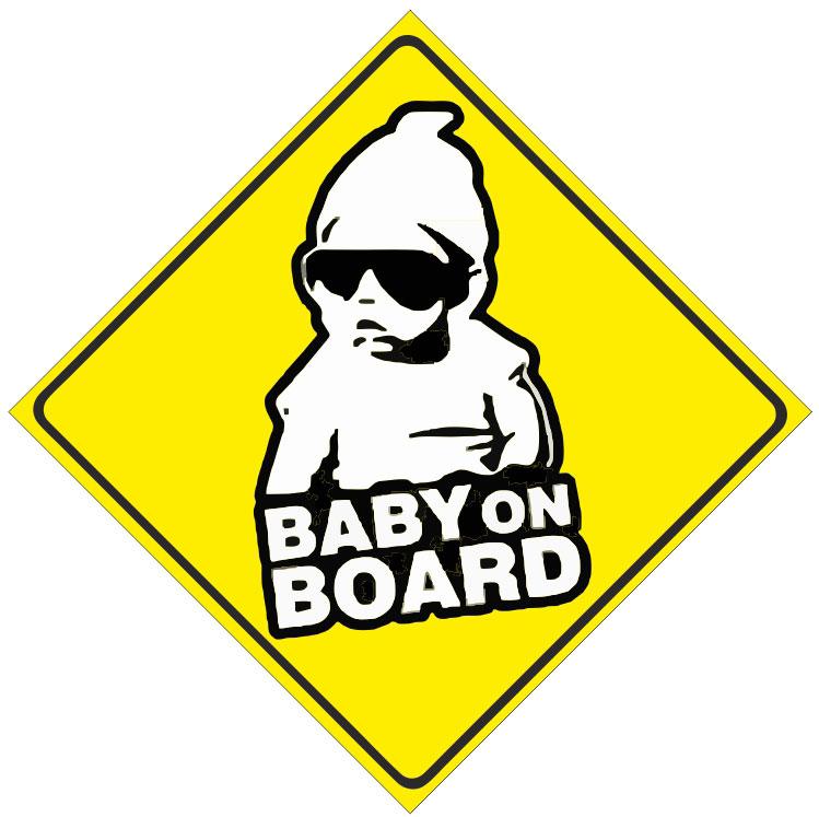 Купить Магнит автомобильный Magellanno Ребенок в машине Baby on board